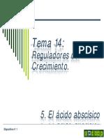 Tema 14e Reguladores Del Crecimiento. Acido Abscisico
