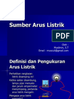 Sumber Arus Listrik