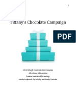Tiffany's Chocolate Campaign