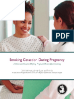 Smoking Cessation Pregnancy - ACOG recommendations