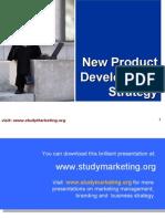 New Product Development ppt