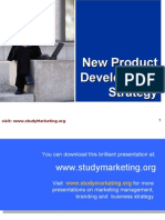 New Product Development ppt