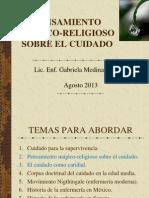 1ra. PARTE PENSAMIENTO MÉGICO-RELIGIOSO SOBRE EL CUIDADO
