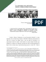 Descaminhos do método artigo_Norma_Cortes_2