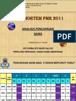 Analisis Post Mortem PMR Tahun 2011 (Sains) (1)