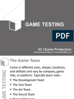 GT 02 Game Production