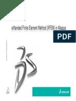 Advanced XFEM Analysis