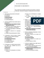 Test de Autoevaluacion Bioquimica Biosintesis de Carbohidratos 1