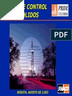 Curso de Control de Solidos 2003