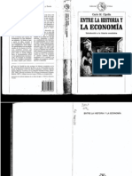 Entre La Historia y La Economia - Carlo M. Cipolla