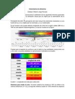 Colorimetría de alimentos