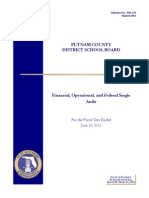 Putnam County District School Board audit report