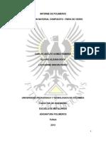 Informe de Polimeros Material Compuesto
