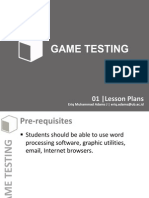 GT 01 Lesson Plans