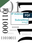 IP Addressing & Subnetting Workbook