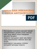Jenis Dan Mekanisme Kerja Antihistamin