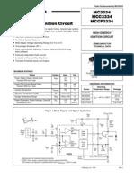 datasheet MC3334