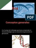 genética. Conceptos básicos