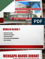 Klinik Pratama Dan Klinik Utama
