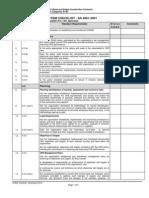 Checklist OHS 4801 2001