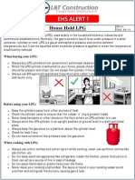 Safety of LPG Cylinders