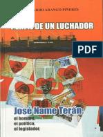 Maestria Documento Jose Name Teran Libro Perfil de Un Luchador