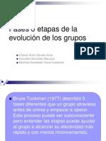 Etapas Desarrollo de Grupos