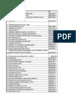 Base de Datos Convenios Empresariales
