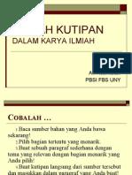 Kaidah Kutipan Dalam Karya Ilmiah.ppt