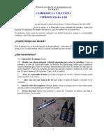Cambiar La Valvulina en El Citroen Xsara 1.9D
