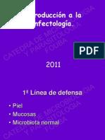 Introduccion a La Infectologia