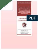 Informe Teorias y Escuelas Gerenciales