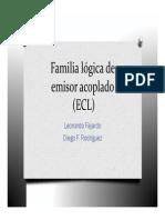 Exposición, Familia Lógica ECL