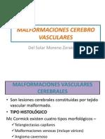 Malformaciones Cerebro Vasculares