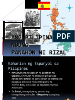 Pilipinas Noong Panahon Ni Rizal