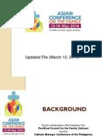 ACF Update March 12