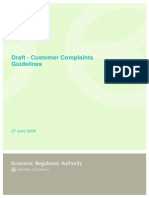 20080627 Draft - Customer Complaints Guidelines