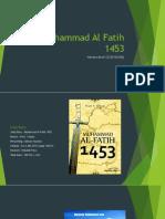 Muhammad Al Fatih 1453