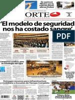 Periódico Norte de Ciudad Juárez edición impresa del 2 abril del 2014