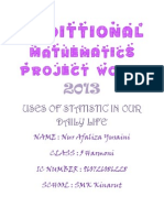 Addmath Project Work 2013 (Repaired)