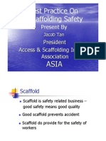 Best Practices on Scaffolds