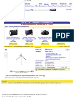 Sony H9 8 1 MP + Tripe + Bolsa + 2 GB + Sedex Gratis - R$ 1199 00 - ZERO