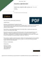 Politica Conservacion Jazztel