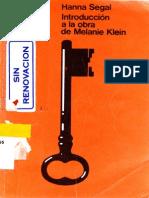 Introduccion a la obra de Melanie Klein (Hanna Segal).pdf