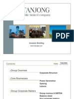 Tanjong Plc -Investor Kit