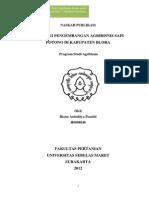 Strategi Pengembangan Agribisnis Sapi Potong Di Kabupaten Blora