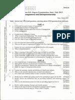 6th Sem Cs Papers - Me Usp CD Cn2 Cg and or June-july 2013