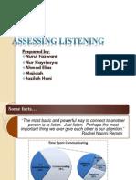 Assessing Listening Mine