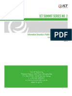 ICT Summit 2- Information Security & PKI Report, November 2013