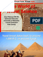 The World of Wheat Science